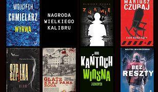 Nagroda Wielkiego Kalibru. Mocna siódemka polskiego kryminału