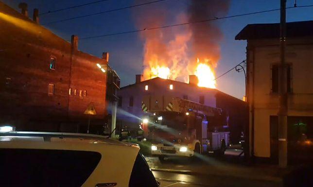 Pożar wybuchł w nocy z soboty na niedzielę