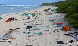 Rajska wyspa tonie w śmieciach