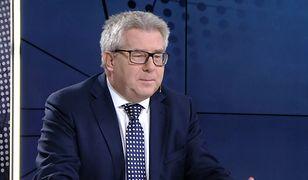 """Czarnecki o protestujących w Sejmie. """"Nie powinny wywlekać tego poza granice kraju"""""""