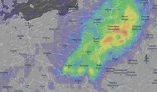 Burze mogą pojawić się we wschodniej części kraju w najbliższych kilkudziesięciu godzinach