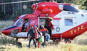 Ratownicy TOPR wracają z akcji w Jaskini Wielkiej Śnieżnej