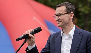 Wybory parlamentarne 2019. Mateusz Morawiecki na pikniku w Stalowej Woli
