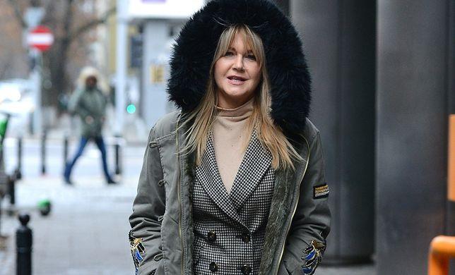 Grażyna Torbicka przyłapana na warszawskiej ulicy