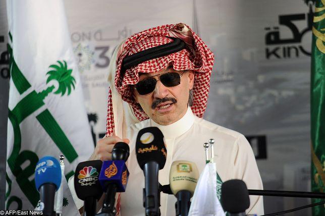 Saudyjski książę Al-Waleed bin Talal jest jednym z najbogatszych ludzi na świecie
