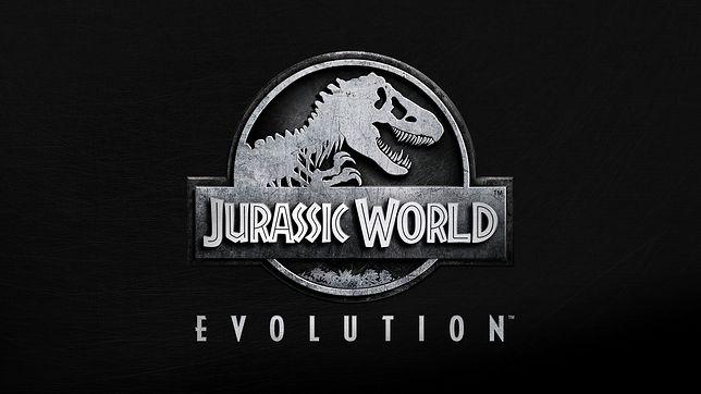 "Logo gry ""Jurassic World Evolution"""