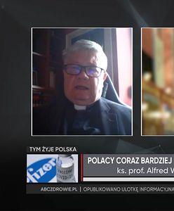 """Ks. prof. Alfred Wierzbicki o zachowaniu posłanki Lewicy. """"To jest profanacja""""."""