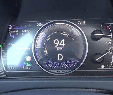Lexus UX 250h 2.0 Hybrid 184 KM (AT) - pomiar zużycia paliwa