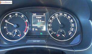 Skoda Fabia III 1.2 110 KM (AT) - pomiar spalania