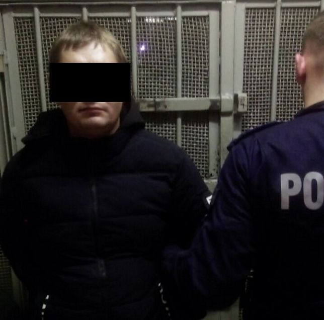 Warszawa. Policja zatrzymała 30-letniego Ukraińca