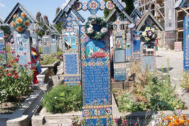 Wesoły Cmentarz, Sapanta, Maramuresz