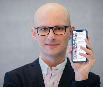 Krzysztof Pałka, szef departamentu software development w Wirtualnej Polsce
