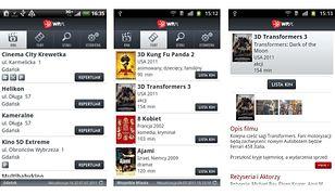 Repertuar Kin - nowa aplikacja WP.PL już w Android Market!