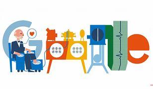 Willem Einthoven bohaterem Google Doodle we wtorek 21 maja.