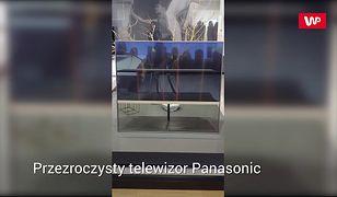 Przezroczysty telewizor Panasonic