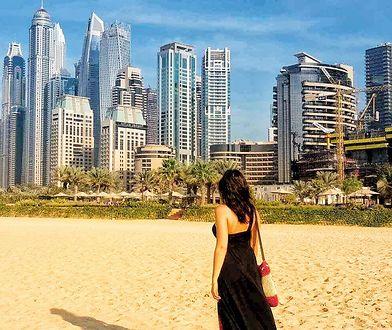 Natalia poleciała na święta do Dubaju