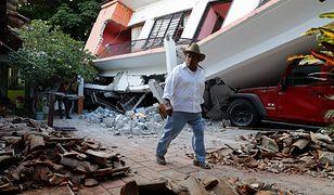Blisko 100 ofiar trzęsienia ziemi w Meksyku. Setki rannych