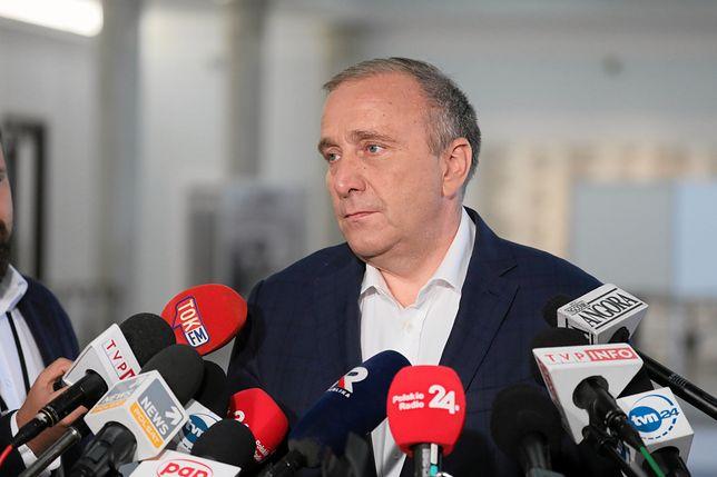Grzegorz Schetyna na wylocie. Najnowszy sondaż nie daje złudzeń