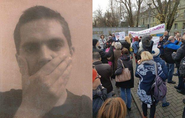 """Protesty przed siedzibą radiowej """"Trójki"""". Dziennikarze i słuchacze stacji przeciw zwolnieniom pracowników"""
