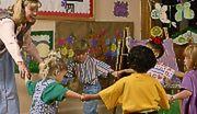 Oszust ma miejsce w przedszkolu
