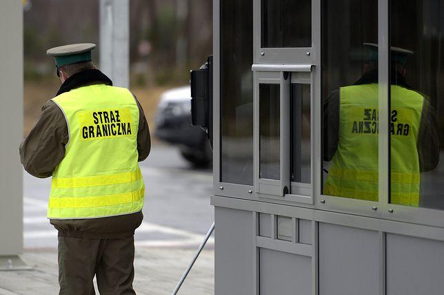 Polska straż graniczna daje popalić cudzoziemcom