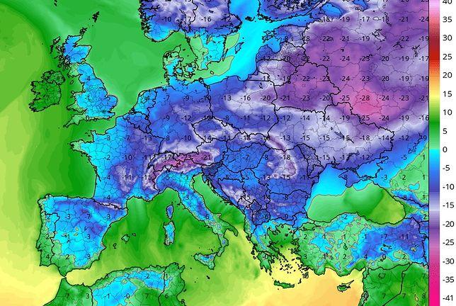 Bestia ze wschodu. IMGW potwierdza silne ochłodzenia. Atak zimy może potrwać do 25 stycznia
