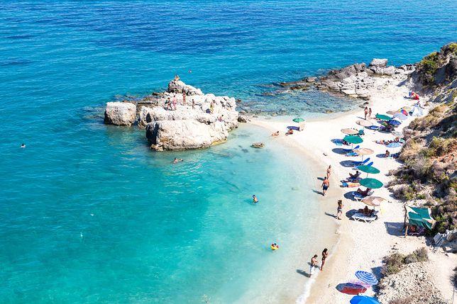 Greckie plaże robią wrażenie