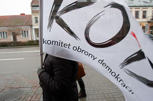 Przedstawiciele KOD byli obecni na pikiecie poparcia dla protestujących lekarzy rezydentów