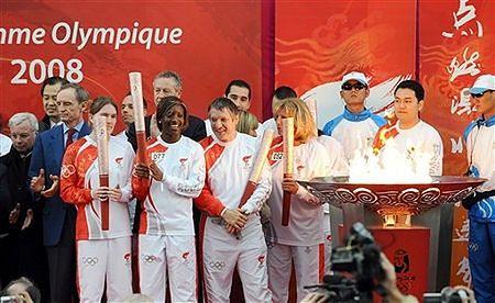 Olimpijski znicz dotarł do Japonii