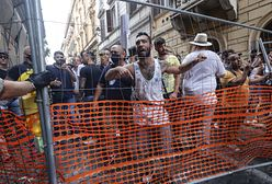"""""""Zielone paszporty"""". Włosi wyszli na ulice"""