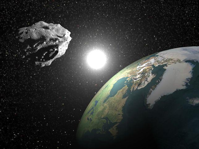 Ostrzeżenie NASA: dziś asteroida minie Ziemię z prędkością ponad 24 tys km/h