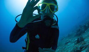 Nurek znalazł na dnie morza aparat fotograficzny. W środku były zdjęcia i filmiki Polaków