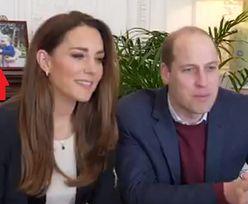 William i Kate weszli na Zoom. Internauci dostrzegli coś w tle