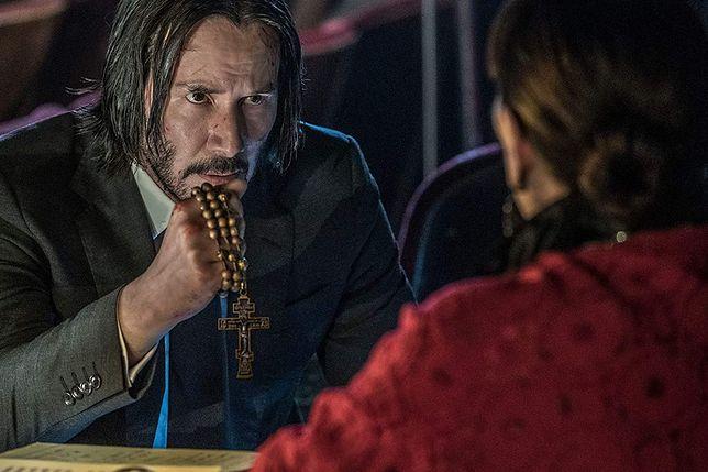 "Keanu Reeves w filmie ""John Wick 3'"