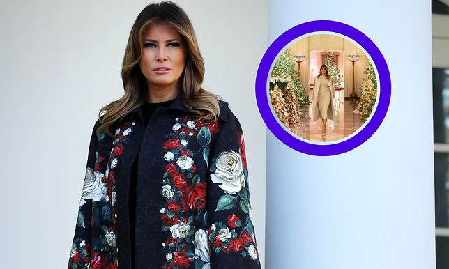 Melania Trump pokazała świąteczne ozdoby