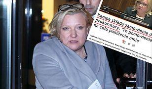 """""""Beata Kempa złożyła zamówienie do prokuratury"""". Wpadka Frondy"""