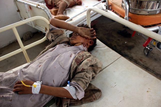 Kilkadziesiąt dzieci ofiarami ataku w Jemenie