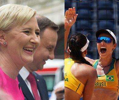 Tokio 2020. Na igrzyskach wystąpił siatkarski duet Aghata/Duda. Brzmi znajomo?