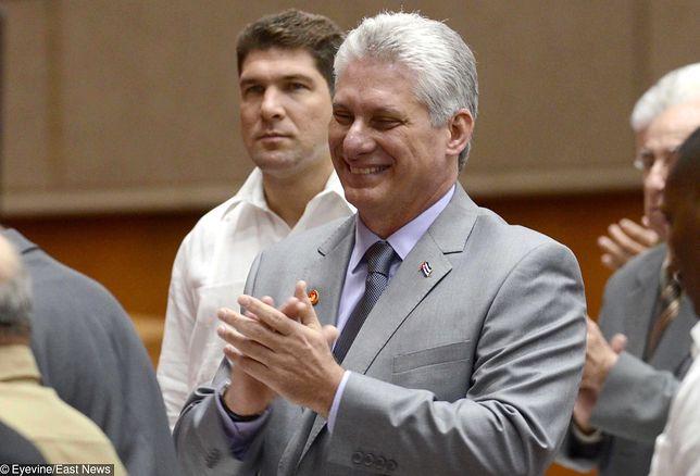 Nowy prezydent Miguel Diaz-Canel jest z wykształcenia inżynierem