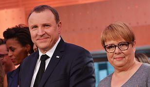 Jacek Kurski i Ilona Łepkowska