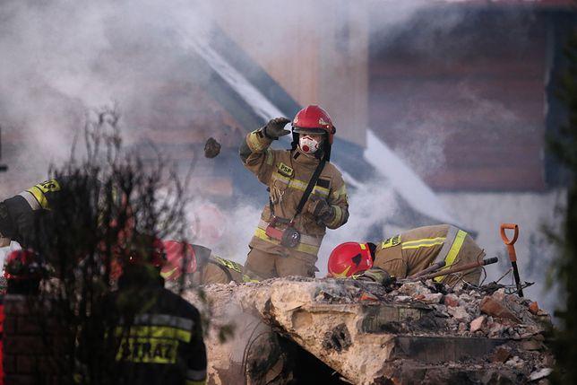 Szczyrk. Wybuch zrównał dom z ziemią. Rodzina nie miała szans