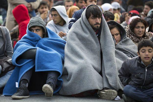 Prezydent Czech oskarża migrantów o robienie z dzieci żywych tarcz