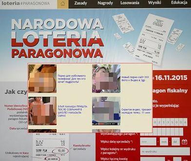 Hakerzy włamali się na rządowe strony Loterii Paragonowej.