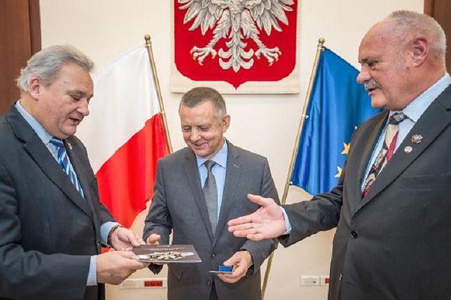 Marian Banaś odebrał nagrodę KPN