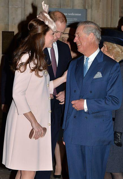 Księżna Kate, książę Karol, książę William