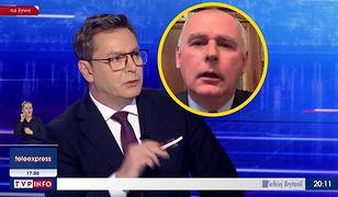 Michał Adamczyk z TVP Info i Paweł Zalewski z PO wdali się w ostrą wymianę zdań