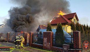 """Wybuch w domu w Łomiankach. """"Budynek jest częściowo zawalony"""""""