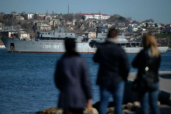 Interfax : Rosja kłamie odnośnie wojsk na Krymie