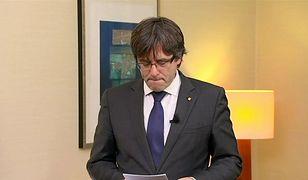 Carles Puigdemont uciekł do Belgii wkrótce po przejęciu przez Hiszpanię kontroli nad Katalonią