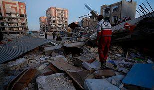 Trzy różne epicentra trzęsień ziemi
